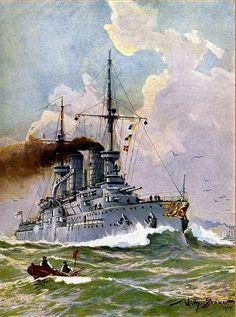 Acorazado Zähringen 1902