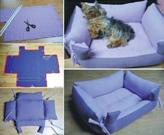 Find Pillow Pet Beds and more for your furbaby. We've included a doggy sweater and a denim jeans pet lap plus the best diy pillow pet beds.