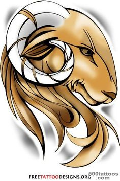 35 Aries Tattoos Ram Tattoo Designs_16