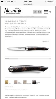 Nesmuk Knife to pass down to my future kids some day. Freakin expensive, but cool none the less.