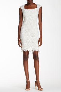 Marina | Glittered Lace Sheath Dress | Nordstrom Rack