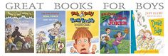 Great Books for Boys {43 Reader Recommended Series}
