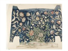 Embroidery design | Morris, Mary (May) | V&A Search the Collections