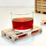palette coasters, very neat $21
