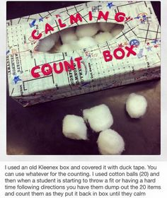 Calming Counting Box