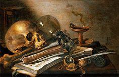 Pieter Claesz | Vanitas Still-Life, 1656
