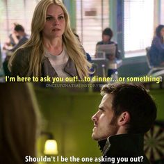 And then... He missed the dart hahahahah oh captain swan moments really fill my heart❤ #ouat #onceuponatime
