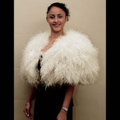Ostrich Feather Cape (holy crap)
