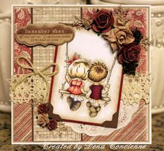 Cards made using Lili of the Valley romantic stamps Wedding Scrapbook, Scrapbook Cards, Wedding With Kids, Copics, Kids Cards, Flower Cards, Cute Cards, Anniversary Cards, Homemade Cards