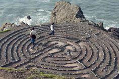 Land's End Labyrinth, San Francisco. A hidden gem!