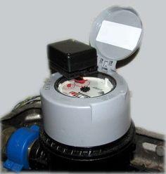 Wasserzähler mit Lichtschranke auf Basis des Arduino Pro Mini
