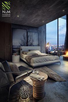 Bedroom Minotti on Behance
