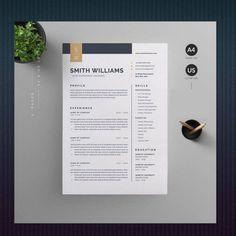 Cv Resume Template, Resume Cv, Free Resume, Cover Letter For Resume, Creative Resume, Professional Resume, Etsy Shop, Lettering