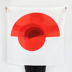 Only the creator of Geometrydaily.com could tie ancient Japanese craftsmanship and a minimalist graphic aesthetic into such a neat, abstract bow. New from Link http://sorrythanksiloveyou.com/products/view/arcs-furoshiki-link-collective
