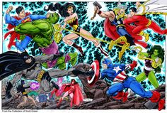 What if the greatest Marvel heroes fought the greatest DC villains? And vice versa? Here are our picks for the match-ups