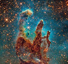 M16, The Eagle Nebula in Serpens - Hubble Space Telescope, Data from the Hubble Legacy Archive - Credit: NASA, ESA, - Composite by Robert Gendler