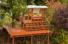If Its Hip, Its Here: More Amazing Arboreal Architecture. Baumraum Tree Houses Part II.