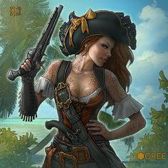 Pirates Age Vol. 2 by Kerem Beyit, via Behance