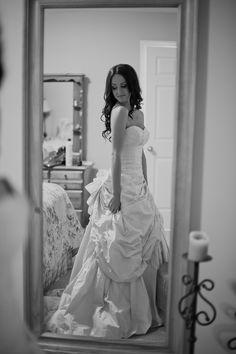 my ian stuart honey striped libertine wedding dress :) - Crimson Chickadee Photography