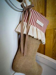 rustic stocking - Google Search
