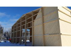 Ecole Primaire Long-Pointe, Winneway Entrepreneur, Home Decor, Wood Construction, Decoration Home, Room Decor, Interior Design, Home Interiors, Interior Decorating