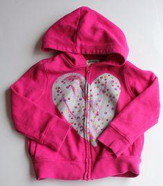 Osh Kosh Girls Hoodie, Size 3