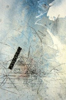 lacrucible Collage, Mark Making, Japanese Art, Abstract Art, Contemporary, Artist, Surface, Painting, Image