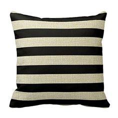 Cotton Linen Square Fashion Black And White Stripe Patter... https://www.amazon.com/dp/B017UBVE60/ref=cm_sw_r_pi_dp_xv2Kxb5PVD2XH