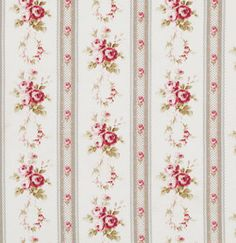 Antique Ticking Roses in Ivory Petal Tanya by chitchatfabrics, $9.25