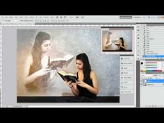 ▶ Photoshop Tutorial - Transparency effect - YouTube