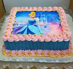 Best birthday food ideas for kids princess ideas Disney Castle Cake, Disney Cakes, Elsa Birthday Cake, Baby Birthday Cakes, Cake Decorating For Kids, Birthday Cake Decorating, Snowman Cake, Barbie Cake, Cake Creations