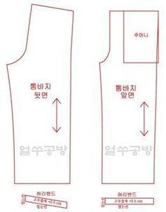 통바지는 허리에 고무줄을 넣은 바지통이 넓은 바지로, 주로 신축성이 없고 얇은 원단이나 마 원단을 소재...