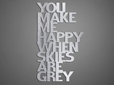 You Make Me Happy Metal Wall Art by INSPIREMEtals on Etsy, $125.00