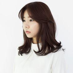 #medium #hair #hairstyle #beauty #cut #bold #perm #chahongardor