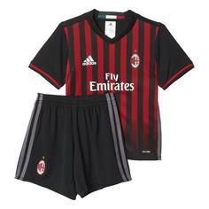 Adidas AC Milan Home Mini-Kit 2016 2017 Conjuntos Para Niños 167907ecbae1a