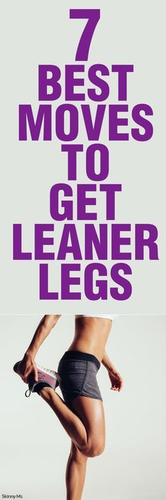 It's time to feel comfortable in the clothes you want to wear! Try the 7 Best Moves to Get Leaner Legs and break out those skinny jeans.