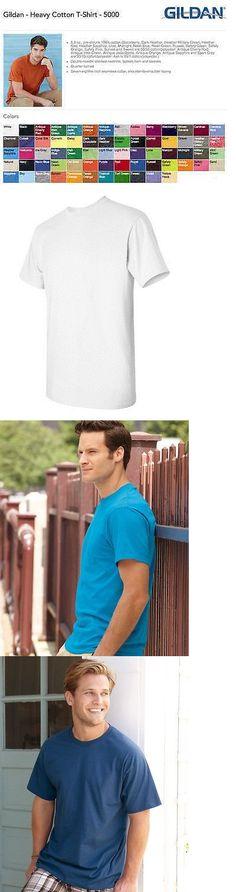 Shirts 50976: Blank Heavy Cotton T-Shirts Bulk Wholesale Lot S-Xl -> BUY IT NOW ONLY: $304.5 on eBay!
