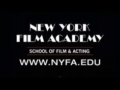 New York Film Academy Offers the Best Hands-On Filmmaking, Acting, Cinematography, Producing, Screenwriting & Documentary Programs. With Degrees, Accelerated Courses & Intensive Workshops. Schools in New York City, Los Angeles, and Around the World. http://www.nyfa.edu/