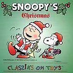 SNOOPY'S CHRISTMAS Classiks On Toys 1994 RARE CD Peanuts Charlie Brown Schulz