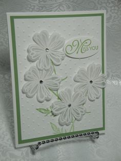 Flower Shop White Embossed Vellum