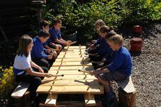 outdoor xylophone