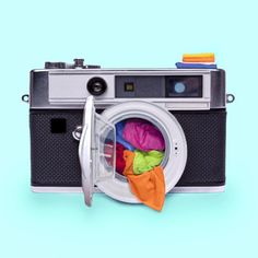 washing camera — Paul Fuentes