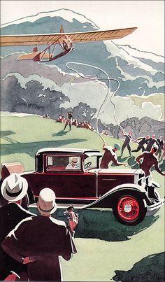1930 Chevrolet Advertising Art