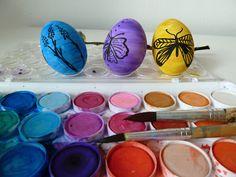 akvarelové Velikonoce, aqurel, easter