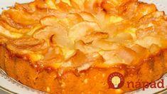 Super jemný tvarohový koláč s jablkami: Už som skúsila veľa jablkových receptov, ale vždy sa vrátim len k tomuto! Crunch, Superfoods, Apple Pie, Macaroni And Cheese, Sweets, Ale, Cheesecake, Ethnic Recipes, Charlotte Russe