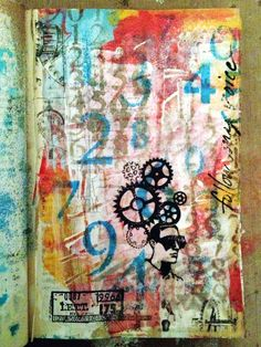 art journal page - Scrapbook.com