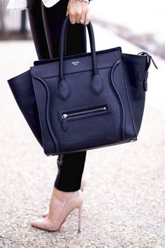 Gorgeous bag with the shoes