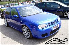 Blue VW Golf mk4 R32 at the Woerthersee Tour GTI-Treffen 2… | Flickr