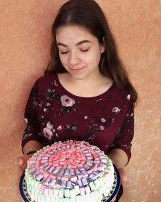 самый милый подарок  #cake #vsco #delish #foods #delicious #tasty #eat #vscocam #moscow #tuchkovo #good #evening