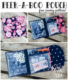 Looking for your next project? You're going to love Peek-a-Boo Pouch free sewing pattern by designer Caroline Fairbanks-Critchfield.